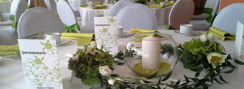 Tisch und Festsaal Image